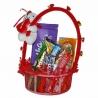 Sladký Valentínsky košík pre ženy