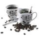 Porcelánová súprava na servírovanie kávy