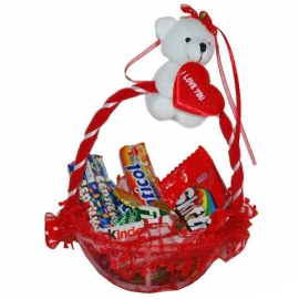 Košíček plný sladkostí
