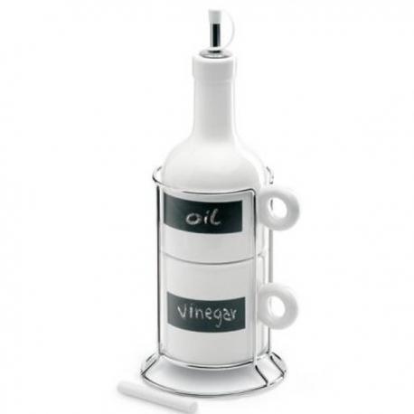 Kuchynské nádoby na olej a ocot