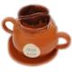 Keramický set hrnčekov na kávu